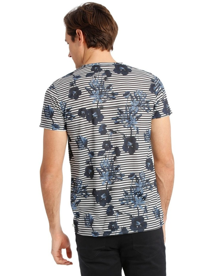 Taza Placement Stripe Tee image 3