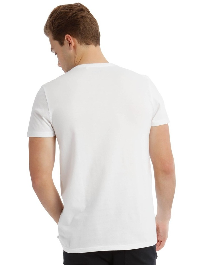 Troy Placement Print Tee image 3