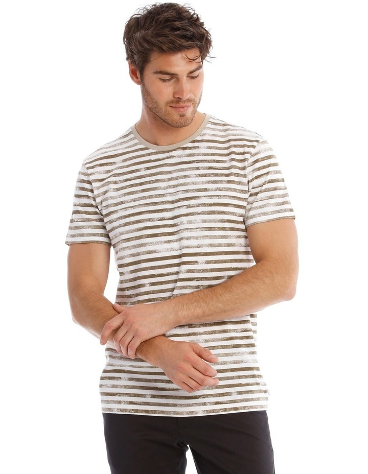 Callisto Photographic Stripe Tee image 1