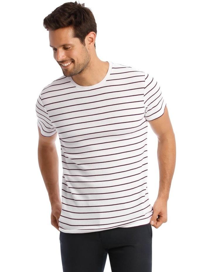 Arlberg Textured Stripe T-Shirt image 1
