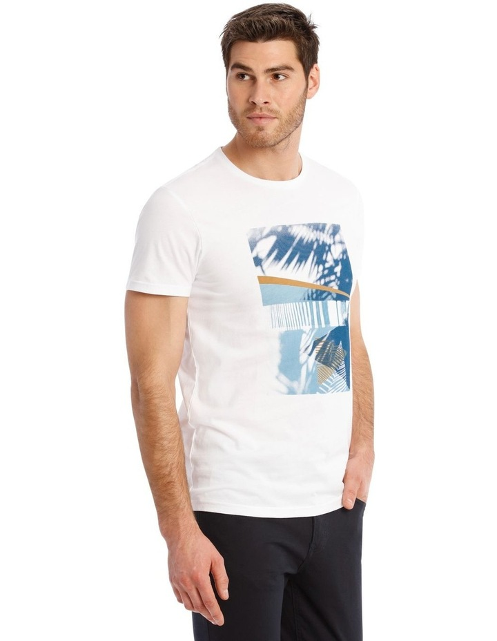 Bahrain Short Sleeve Placement Print Tee image 2
