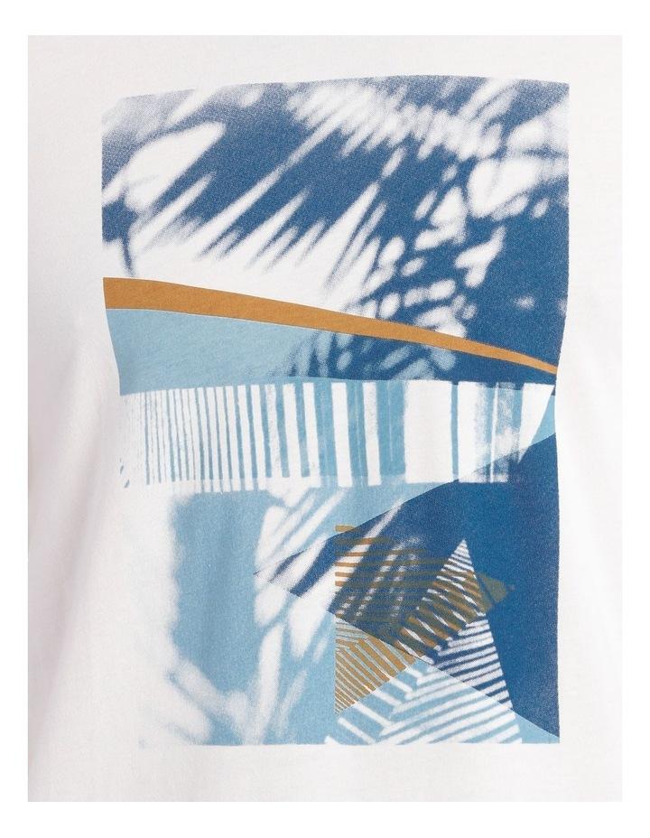 Bahrain Short Sleeve Placement Print Tee image 4