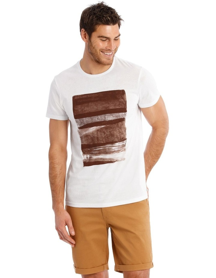 Mirage Short Sleeve Placement Print Tee image 1