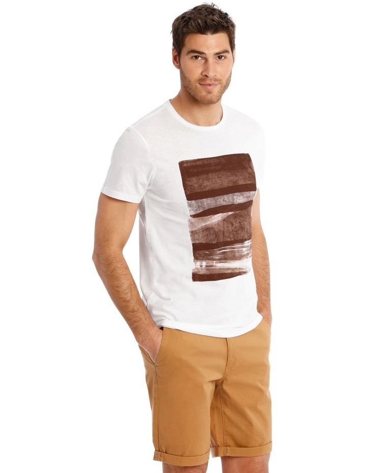Mirage Short Sleeve Placement Print Tee image 2