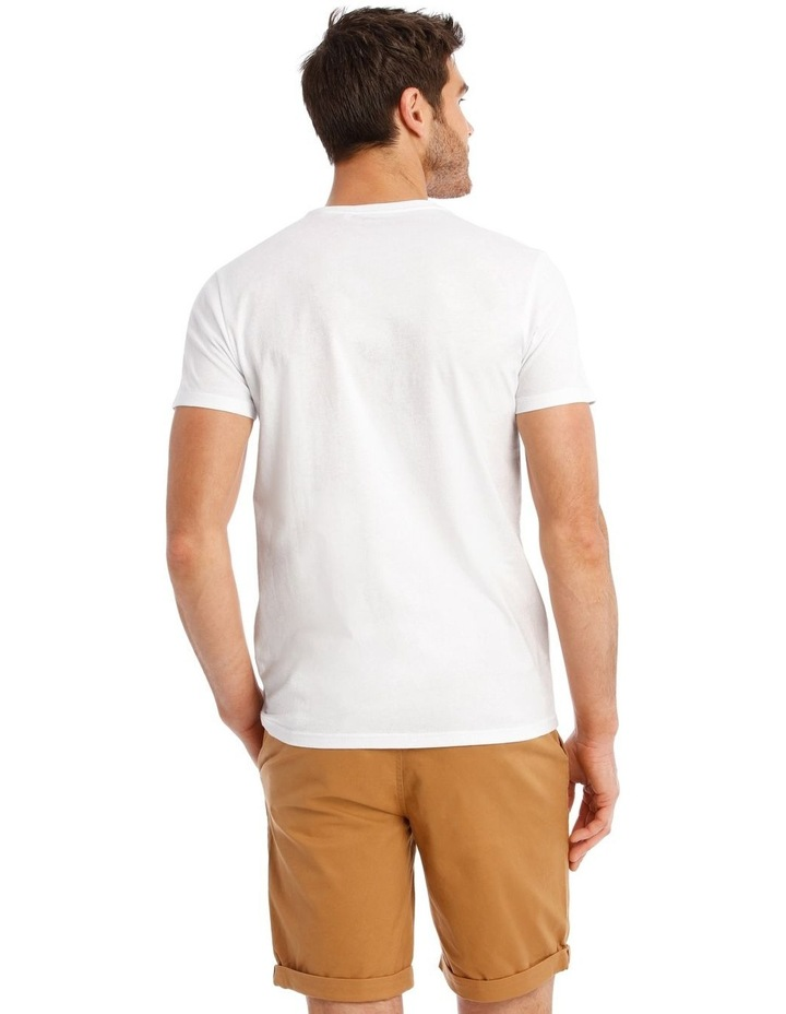 Mirage Short Sleeve Placement Print Tee image 3