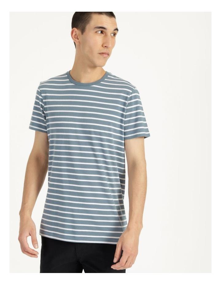 London Stripe Tee Blue image 2
