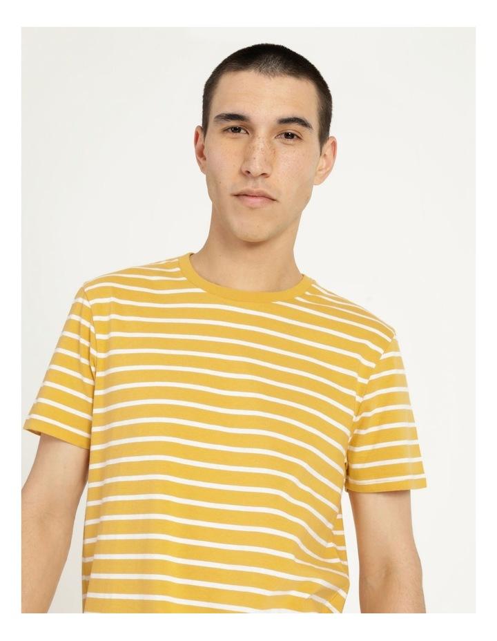 London Stripe Tee Yellow image 1