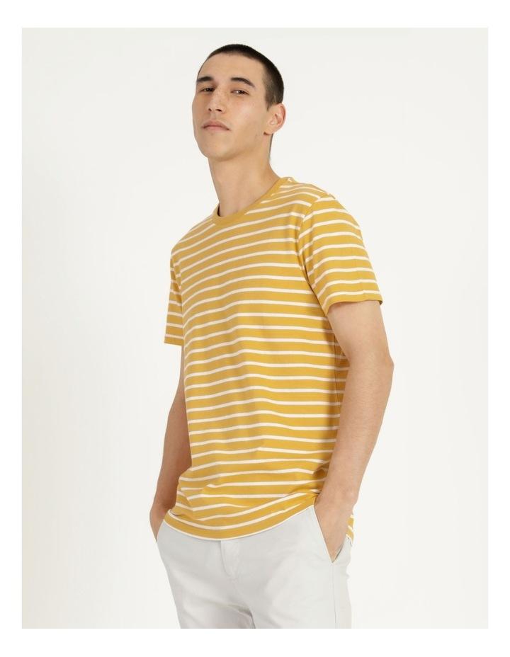 London Stripe Tee Yellow image 2
