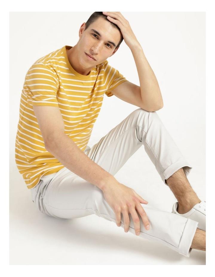 London Stripe Tee Yellow image 4