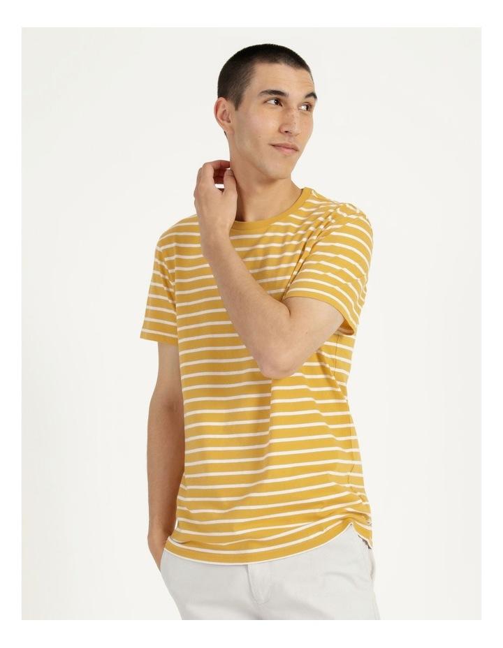 London Stripe Tee Yellow image 5