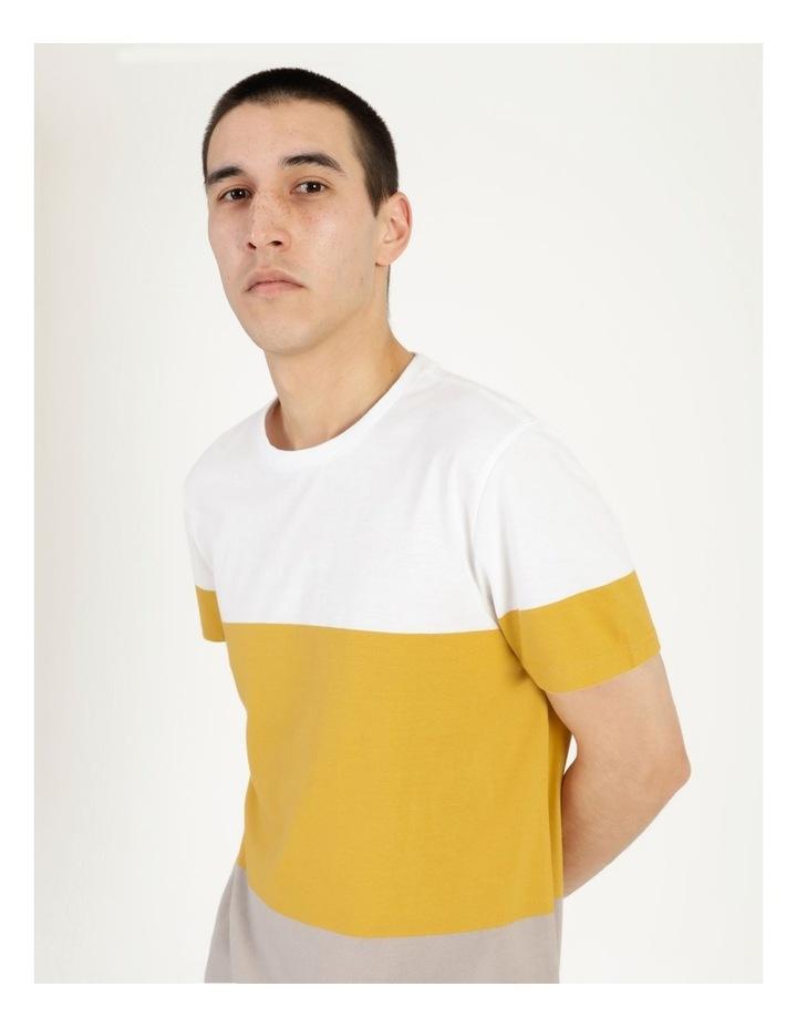 Forbes Block Stripe Short Sleeve Tee image 1