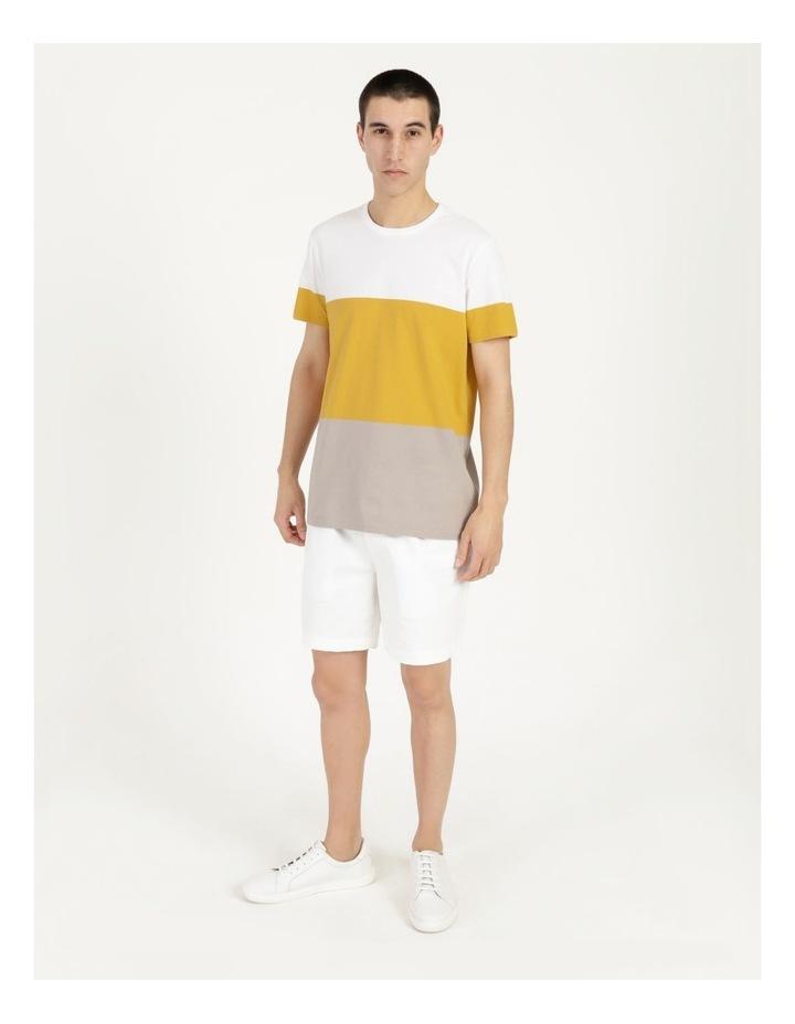 Forbes Block Stripe Short Sleeve Tee image 3