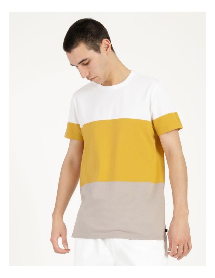 Forbes Block Stripe Short Sleeve Tee image 4