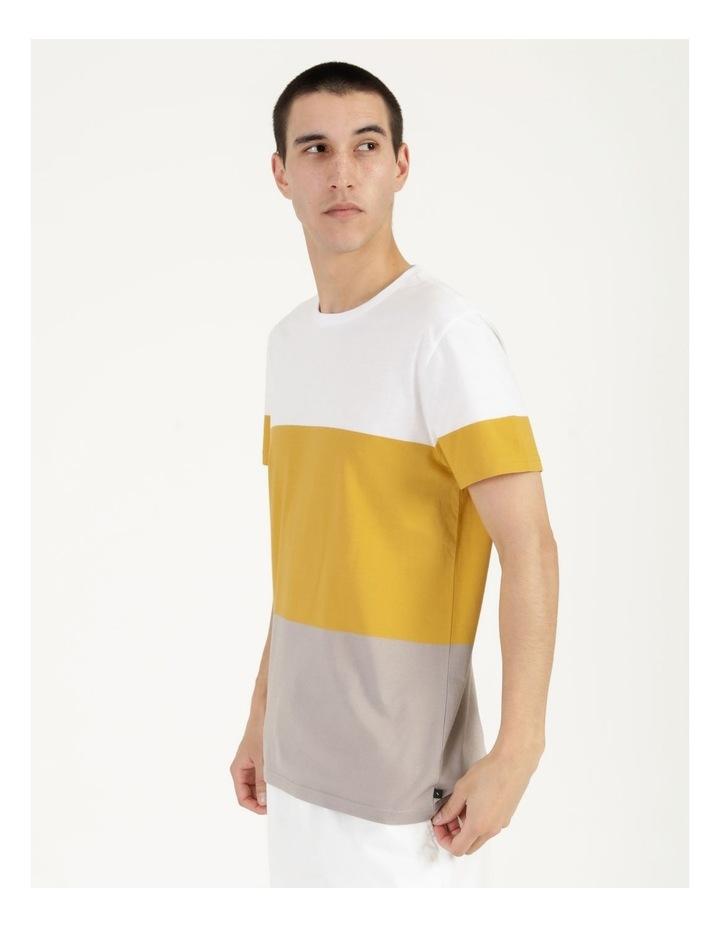 Forbes Block Stripe Short Sleeve Tee image 5