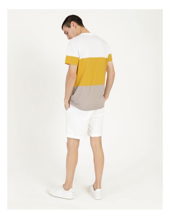 Forbes Block Stripe Short Sleeve Tee image 6