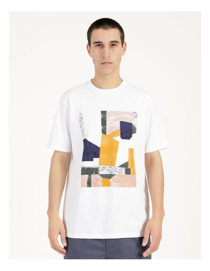 Wynyard Placement Print Relaxed Short Sleeve Tee image 1