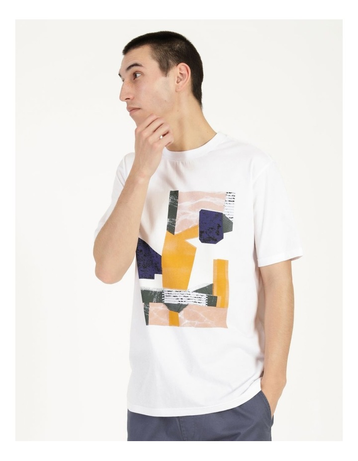 Wynyard Placement Print Relaxed Short Sleeve Tee image 3