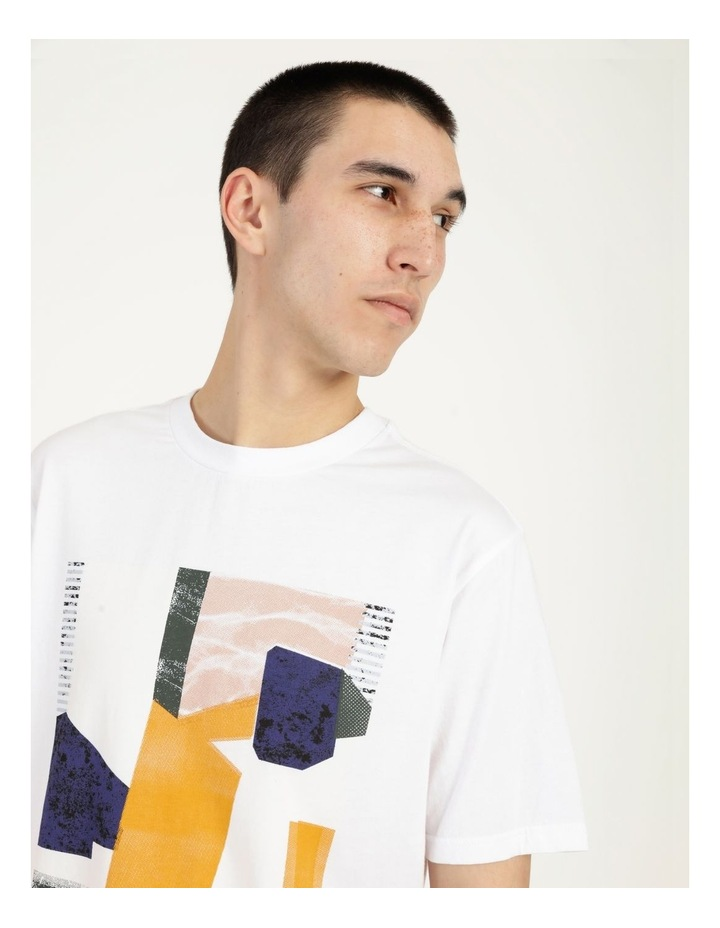 Wynyard Placement Print Relaxed Short Sleeve Tee image 6
