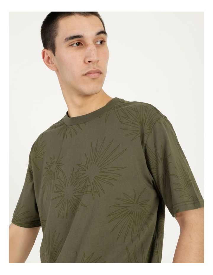 Gawler All Over Print Relaxed Short Sleeve Tee image 1