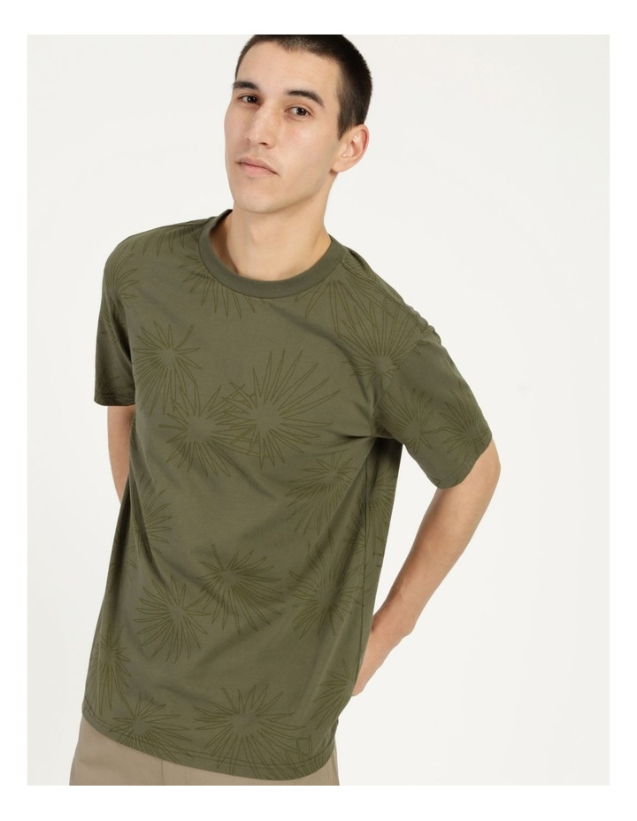 Gawler All Over Print Relaxed Short Sleeve Tee image 5