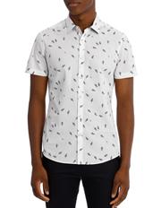 Quito Printed Slim Shirt