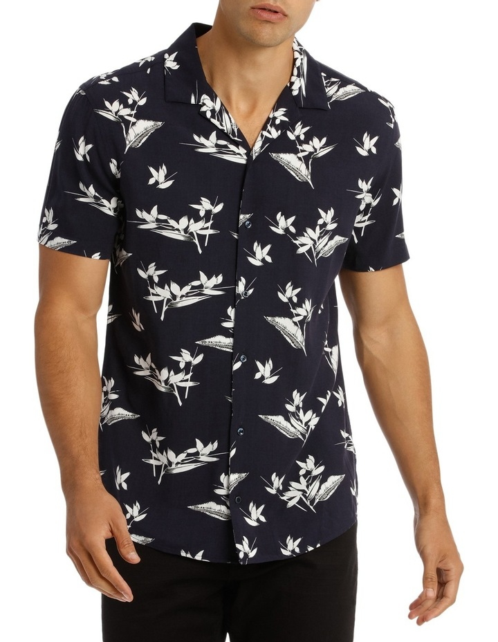Alexandria Printed Short Sleeve Relaxed Shirt image 1