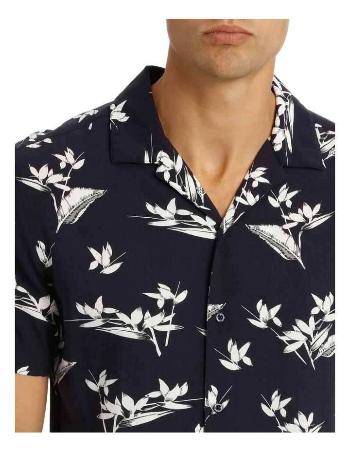 Alexandria Printed Short Sleeve Relaxed Shirt image 4
