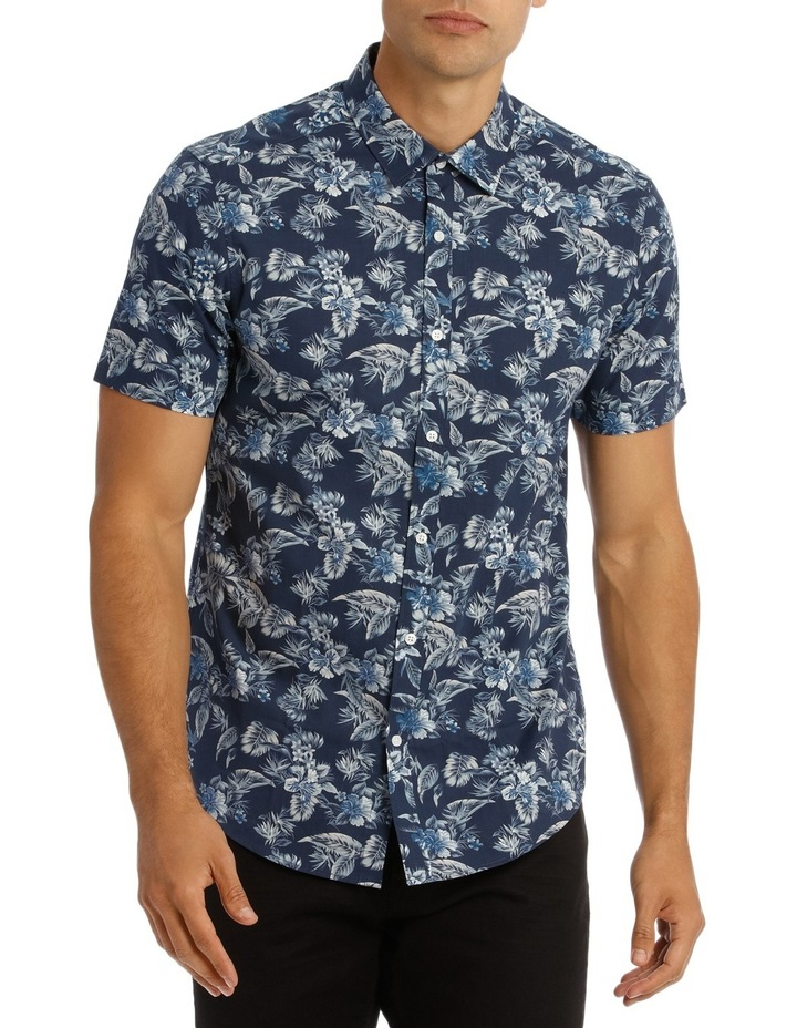 Tofino Floral Printed Short Sleeve Slim Shirt image 1