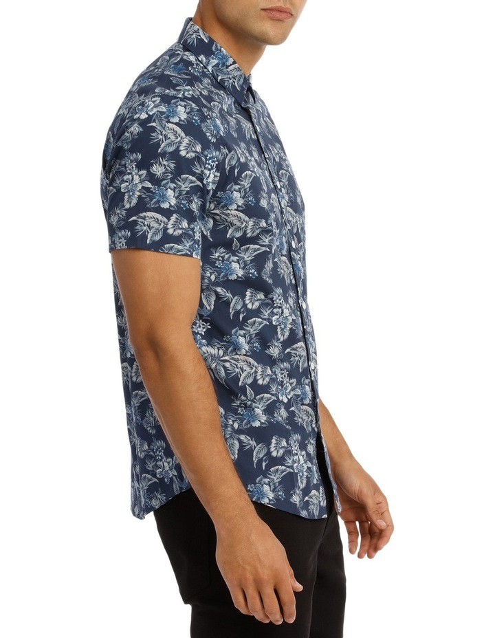 Tofino Floral Printed Short Sleeve Slim Shirt image 2