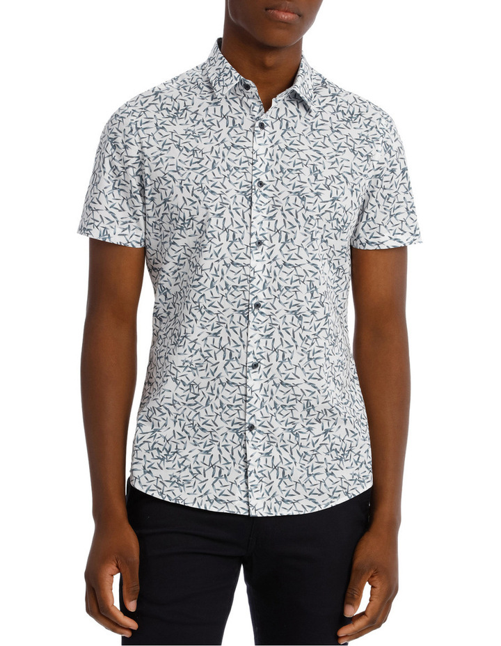 Maldives Printed Slim Shirt image 1