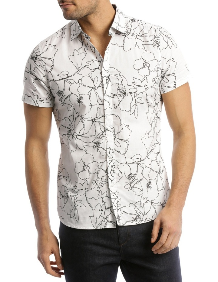 Long Beach Printed Slim Shirt image 1
