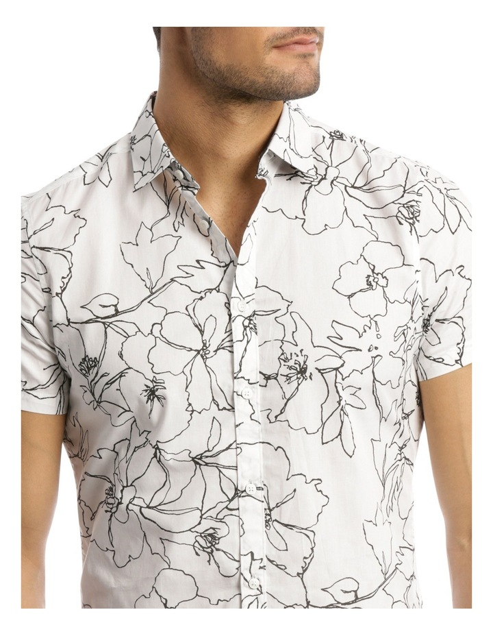 Long Beach Printed Slim Shirt image 4