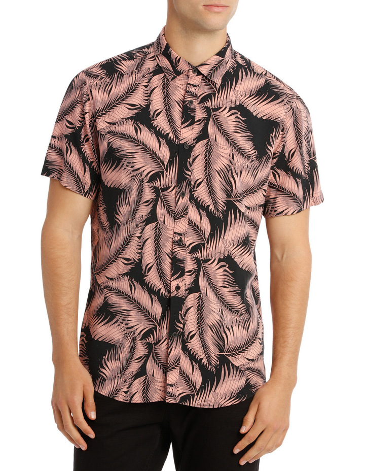 Santiago Printed Short Sleeve Relaxed Shirt image 1