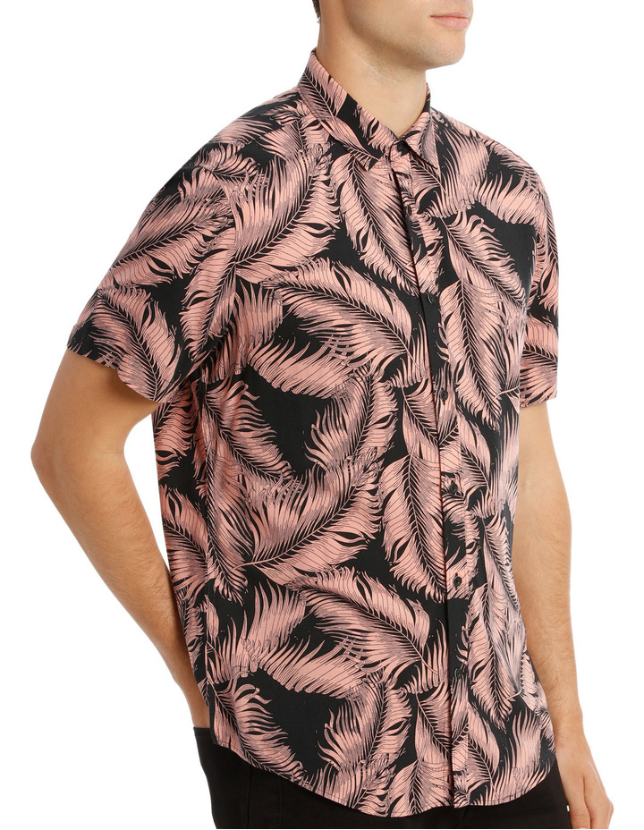 Santiago Printed Short Sleeve Relaxed Shirt image 2