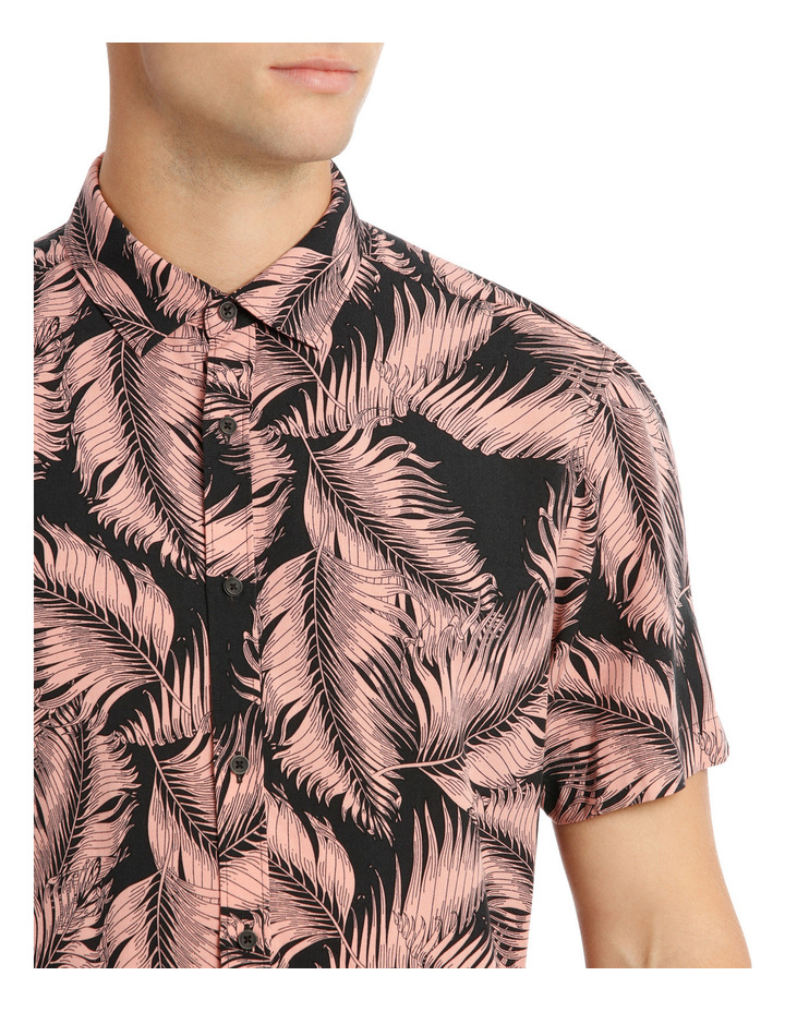 Santiago Printed Short Sleeve Relaxed Shirt image 4