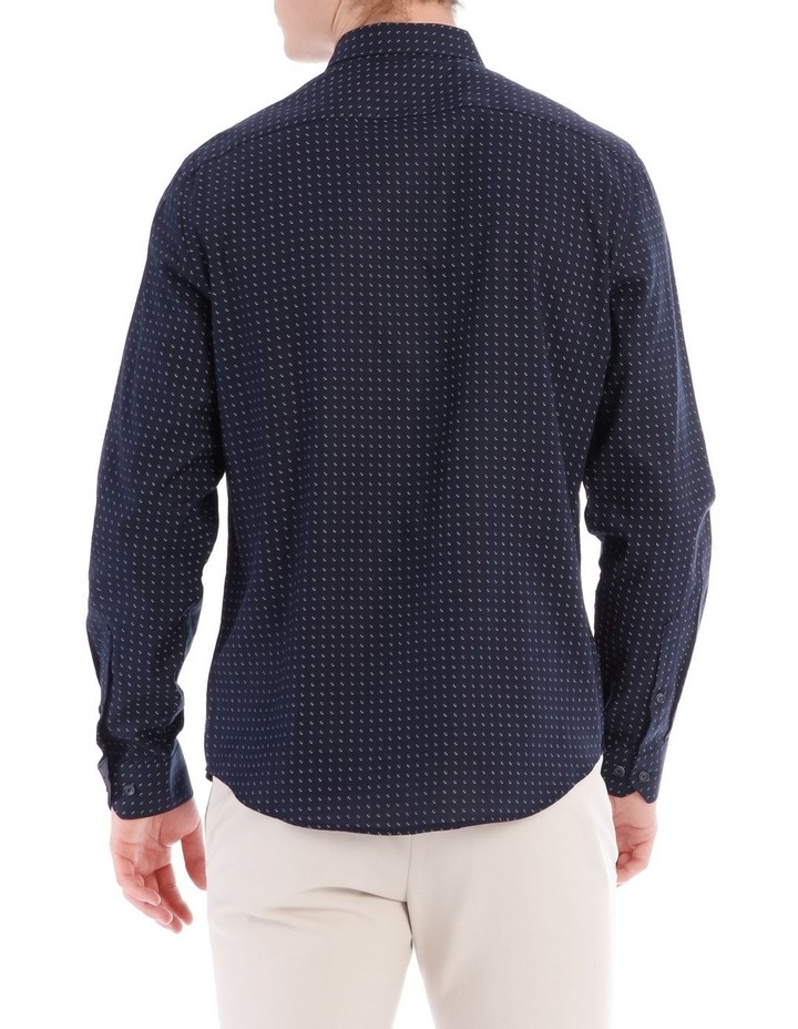 Iceland Printed Long Sleeve Relaxed Shirt image 3