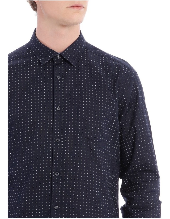 Iceland Printed Long Sleeve Relaxed Shirt image 4