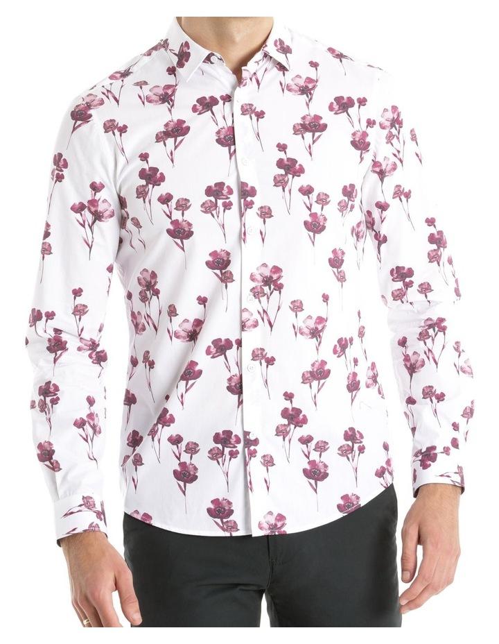Lyceum Printed Floral Long Sleeve Slim Shirt image 1