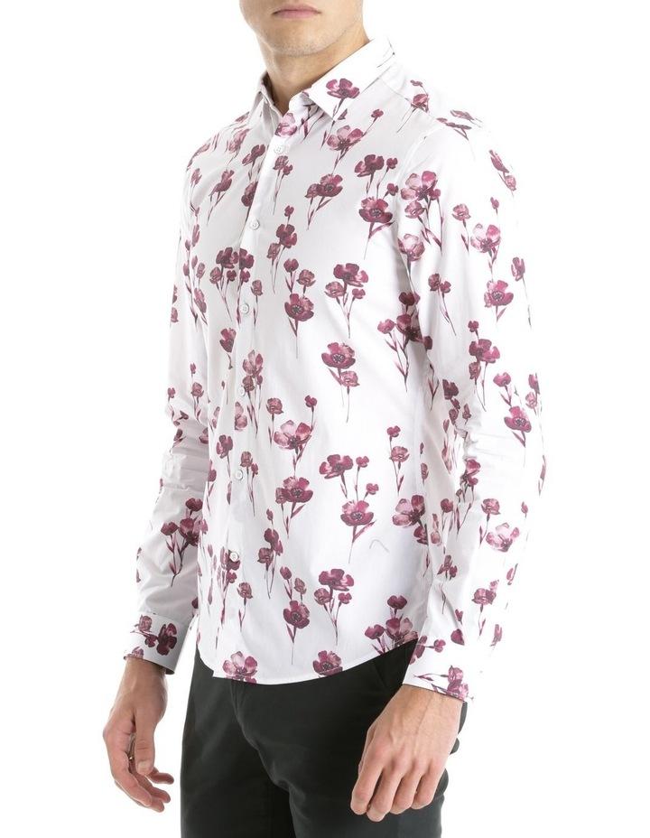 Lyceum Printed Floral Long Sleeve Slim Shirt image 2