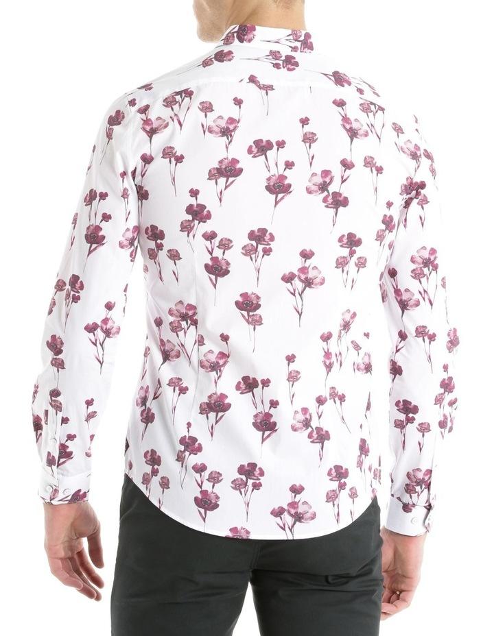 Lyceum Printed Floral Long Sleeve Slim Shirt image 3