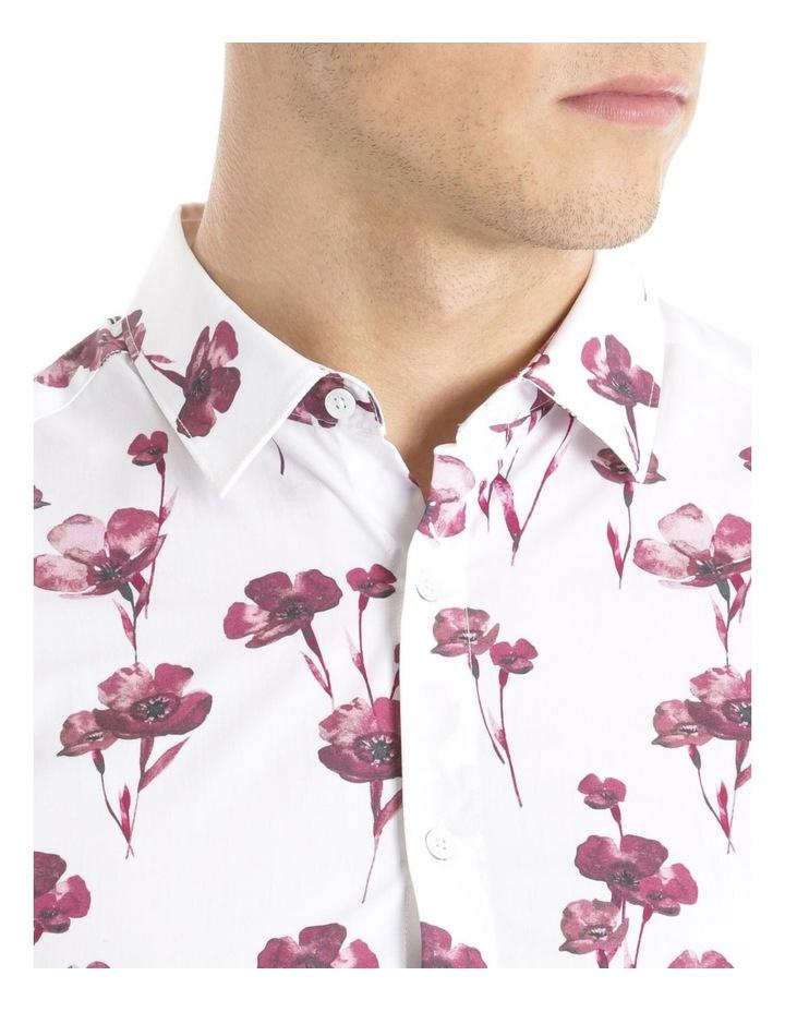 Lyceum Printed Floral Long Sleeve Slim Shirt image 4