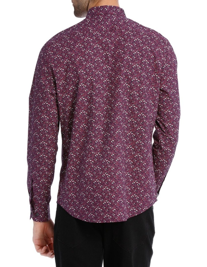 Lyric Micro Printed Long Sleeve Relaxed Shirt image 3