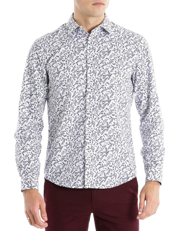 APOLLO PRINTED LS RELAXED SHIRT image 1