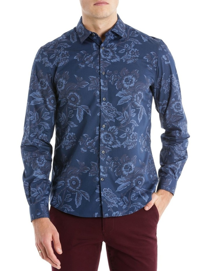 CAMBRIDGE LARGE FLORAL LS RELAXED SHIRT image 1