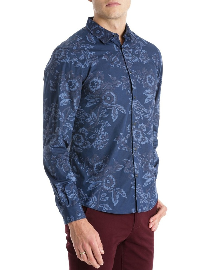 CAMBRIDGE LARGE FLORAL LS RELAXED SHIRT image 2