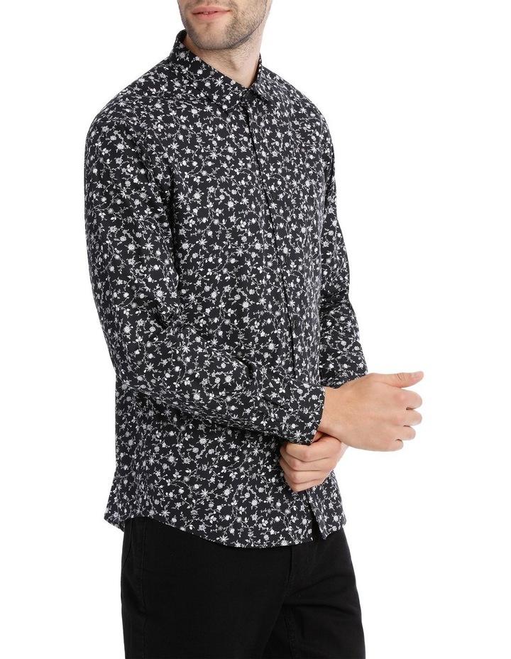 Novello Printed Long Sleeve Relaxed Shirt image 2