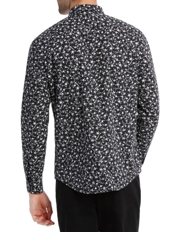 Novello Printed Long Sleeve Relaxed Shirt image 3