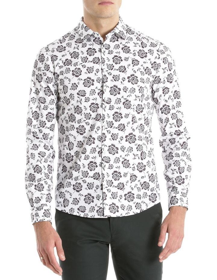 Forum Printed Long Sleeve Slim Shirt image 1