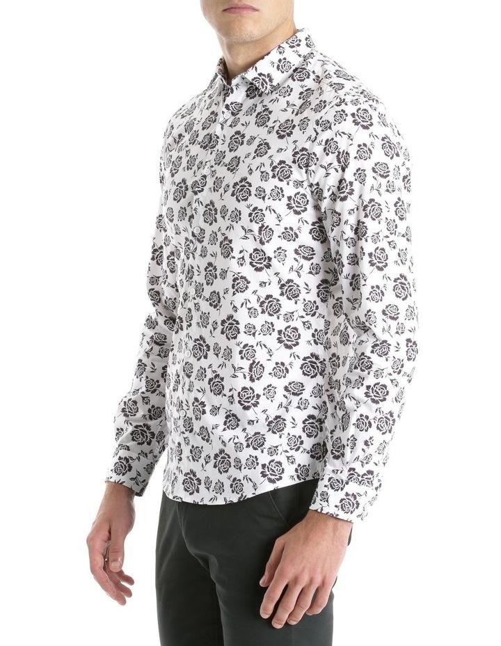 Forum Printed Long Sleeve Slim Shirt image 2