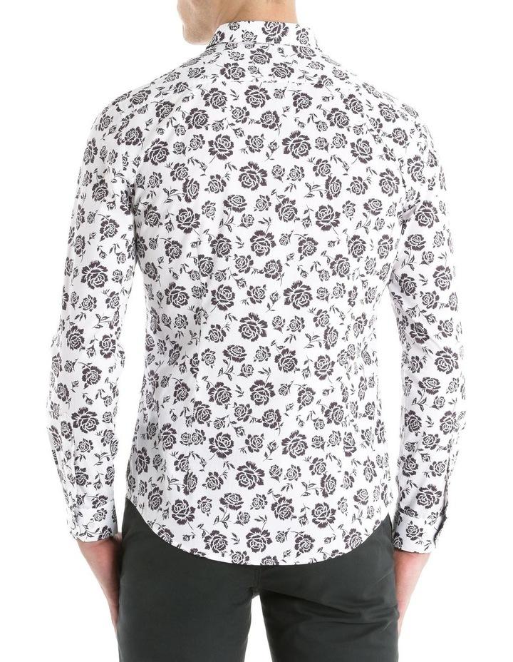 Forum Printed Long Sleeve Slim Shirt image 3